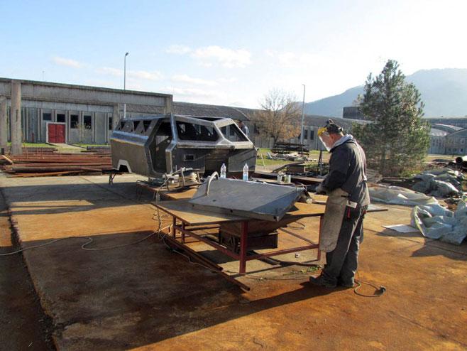 Технички ремонт Братунац (Фото: Срна)