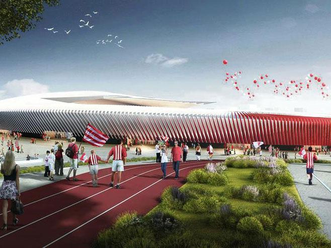 Novi stadion Crvene zvezde (Foto: IES/CREW)