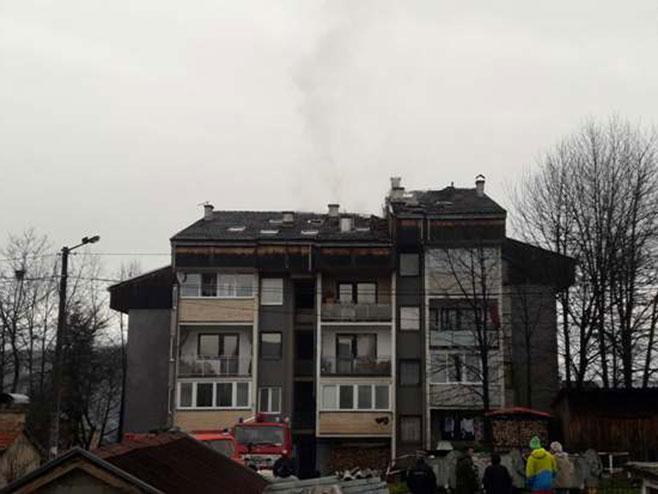 Novi Grad: požar , Foto: Srna