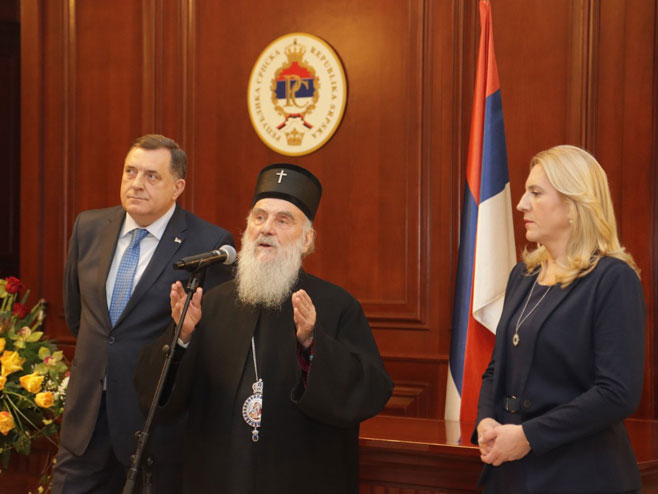 Prijem u Vladi Srpske (Foto: RTRS)