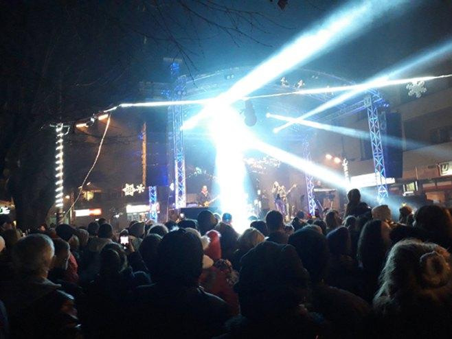 Berane: Doček pravoslavne Nove godine (Foto: Večernje novosti)