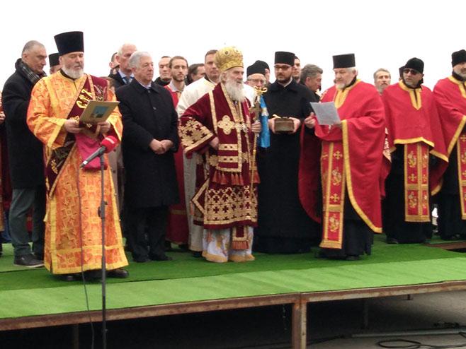 Bogojavljenje u Srbiji (Foto: RTRS)