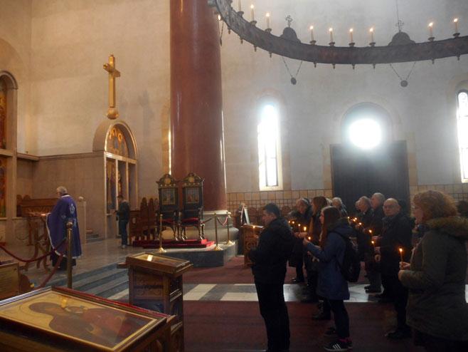 Beograd-Crkva Svetog Marka: parastos za 348 Srba ubijenih u akciji Maslenica