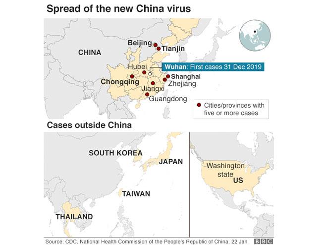 Brzina širenja korona virusa - prikaz (Foto: ilustracija )