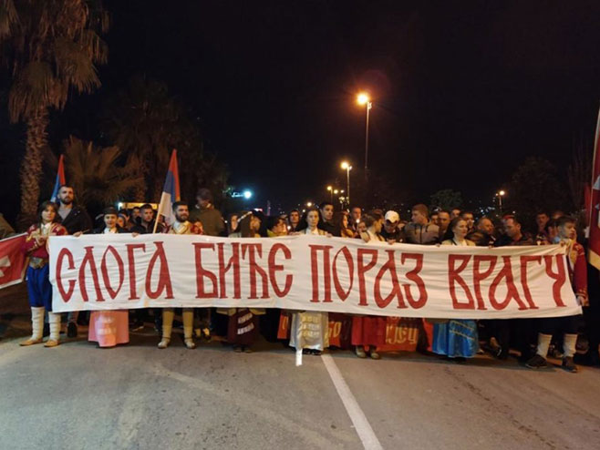 Crna Gora - litija (foto:mitropolija.com)