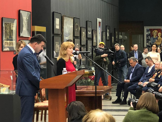 Delegacija Srpske na izložbi u Moskvi (Foto: RTRS)