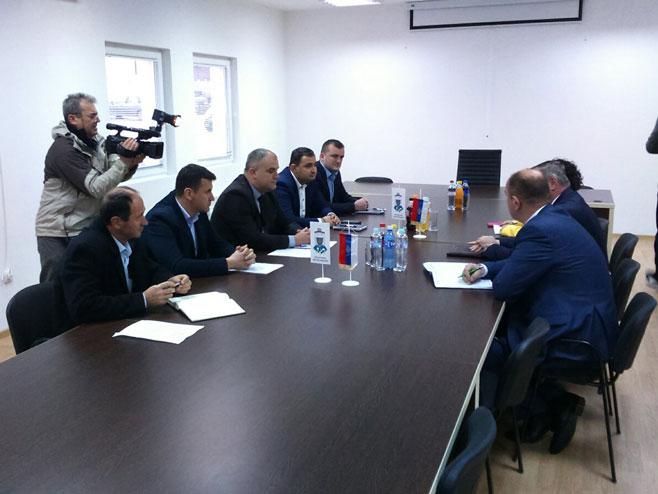 Састанак у Берковићима (Фото: РТРС)