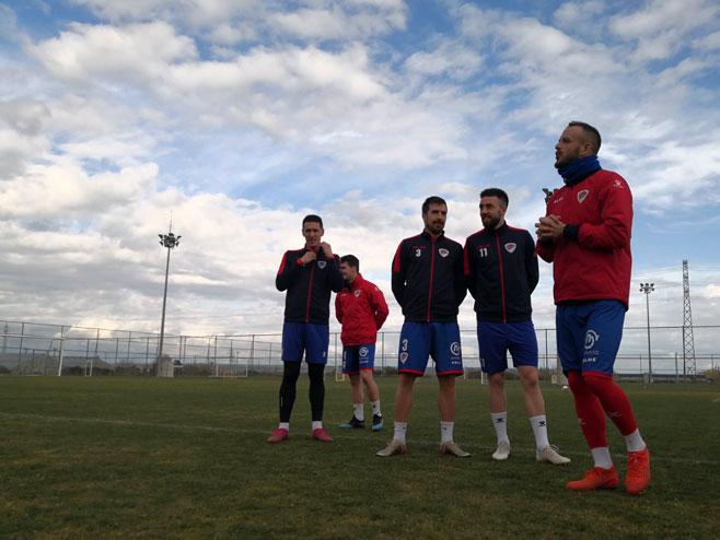Припреме фудбалера Борца у Анталији (Фото: РТРС)