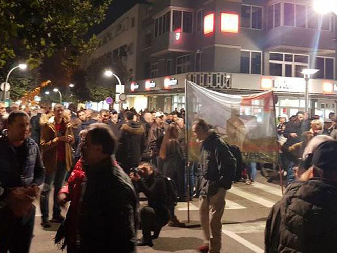 Протести у Подгорици (фото:VOLIMPODGORICU) - Фото: Тwitter