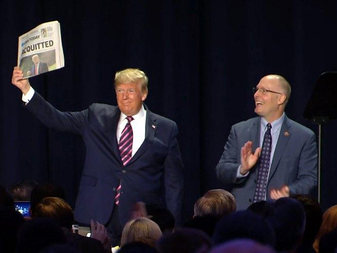 Доналд Трамп (Фото: NBC news)