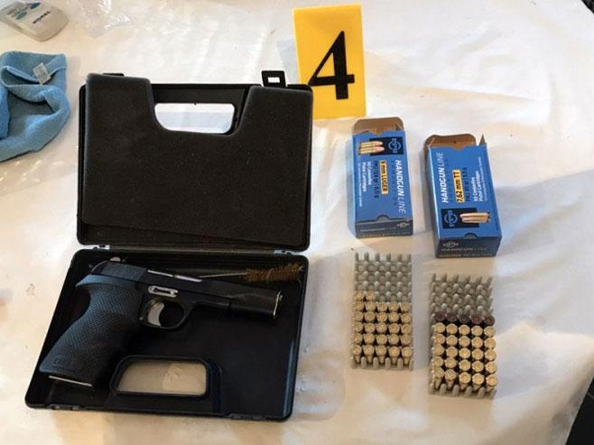 Заплијењено оружје (Фото: РТРС)