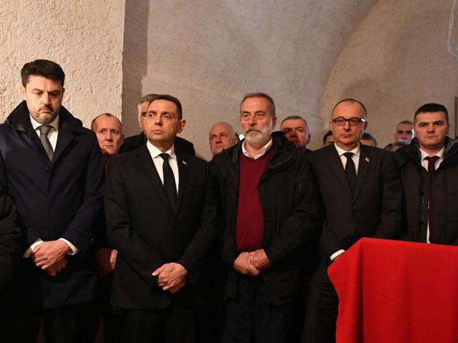 Вулин у Црној Гори (Фото:Министарство одбране/Даримир Банда)