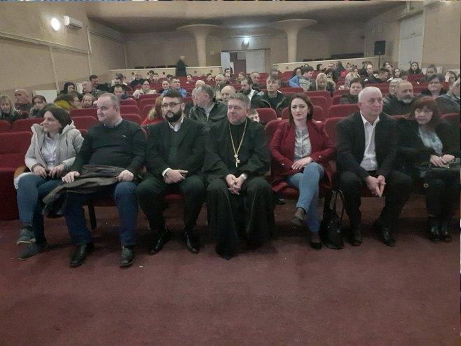 Шамац: Свечана академија поводом Дана бораца (Фото: СРНА)
