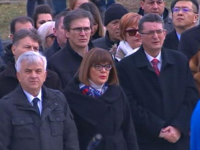 Čubrilović i Gojkovićeva u Orašcu (Foto: RTRS)