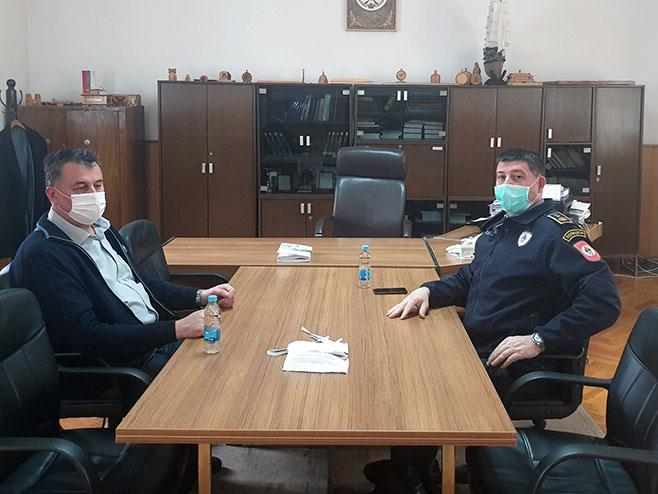 Синиша Голијанин и Велимир Костовић (Фото: РТРС)