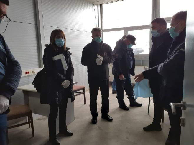 Карантински простор за смјештај лица која улазе у Републику Српску, Шамац