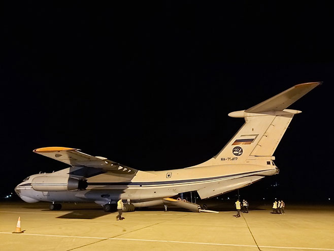 Руски авион (Фото; РТРС)