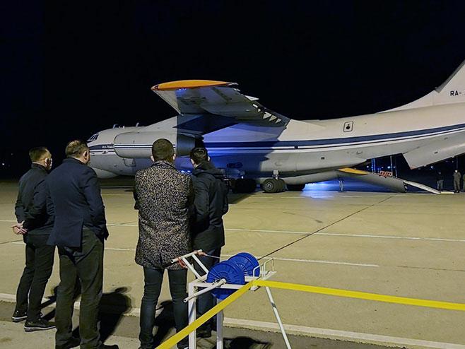 Ruski avion (Foto: RTRS)