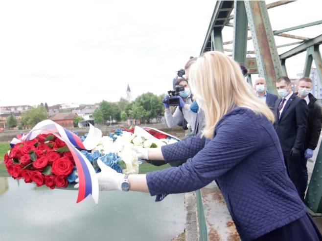 Обиљежавање 25 година од егзодуса Срба из западне Славоније (Фото: РТРС)