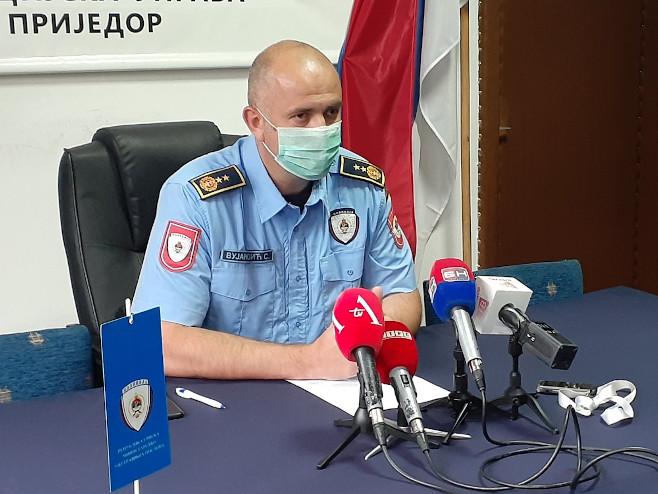 Сретоја Вујановић, начелник ПУ Приједор