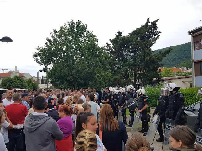 Crna Gora - proteesti (Foto:Sputnik / Nebojša Popović)