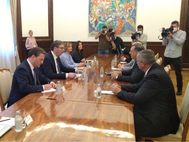 Састанак у Београду (Фото: РТРС)