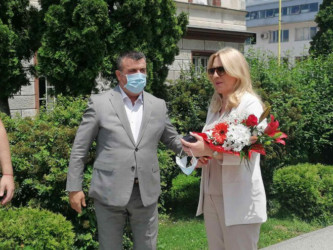 Predsjednica Srpske u Vlasenici, Foto: RTRS