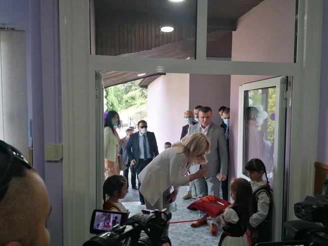 Cvijanović otvorila vrtić u Vlasenici, Foto: RTRS