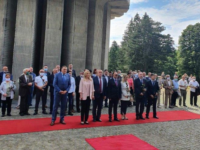 Delegacija Srpske na Kozari