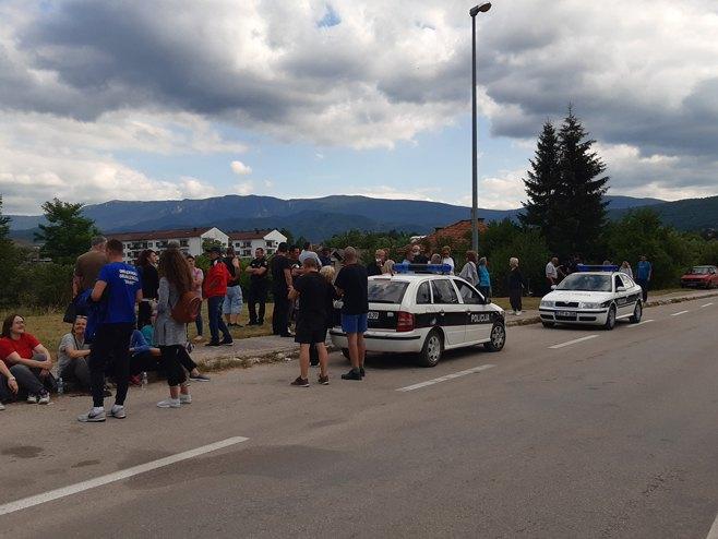 Drvar, protesti