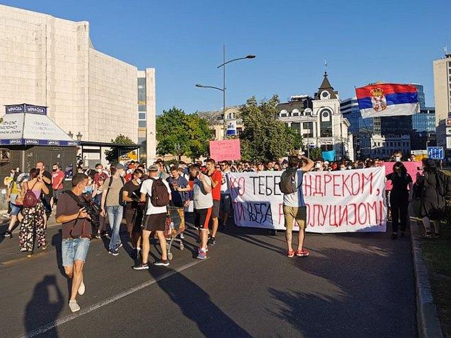 Нови Сад - протести (фото:021.rs)