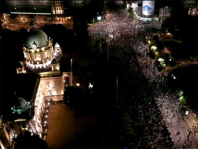 Београд: Демонстранти