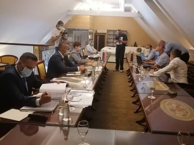 Predstavnici vlada Republike Srpske i Srbije (Foto: SRNA)