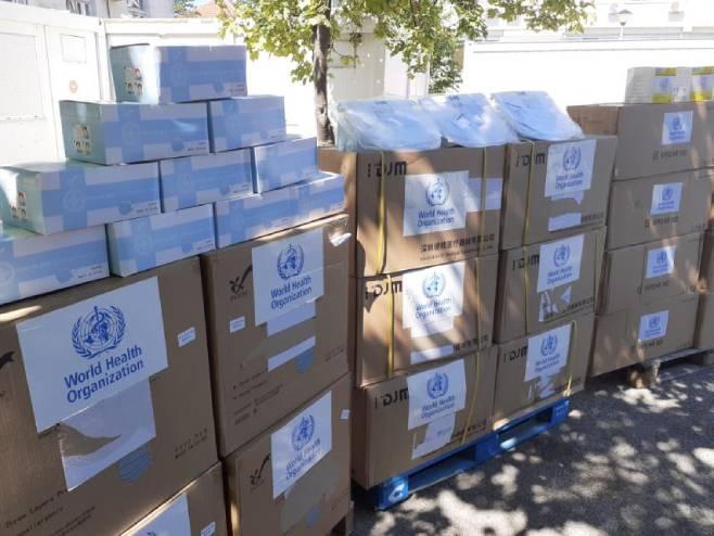 Donacija Svjetske zdravstvene organizacije (Foto: RTRS)