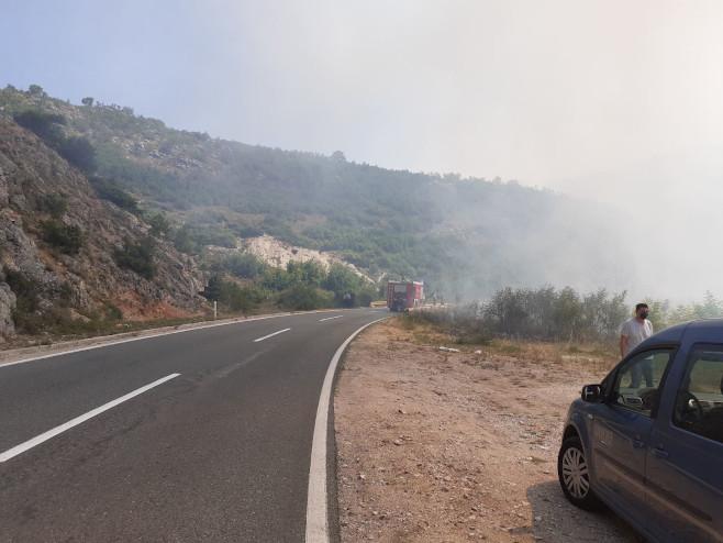 Hercegovina - požar (Foto: RTRS)