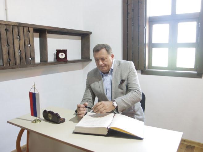 Хашани:Милорад Додик (Фото: СРНА)