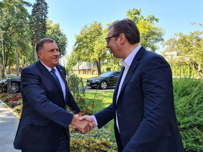 Dodik-Vučić (foto:buducnostsrbije/ Instagram) -