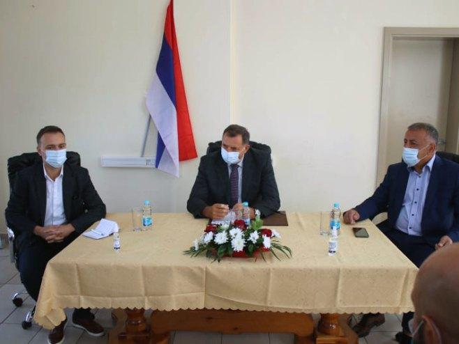 Dodik u Šipovu (Foto: Srna)