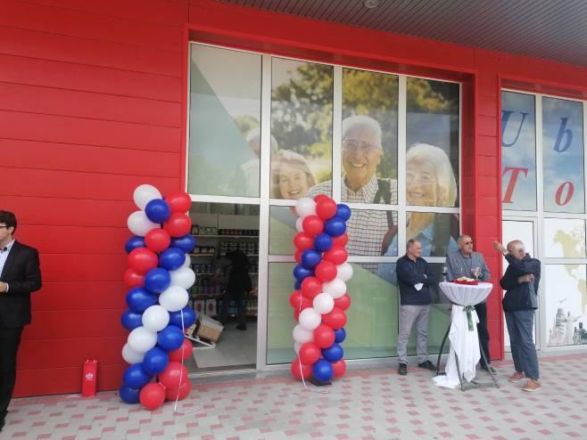 Требиње - отворена продавница за пензионере (фото: СРНА)