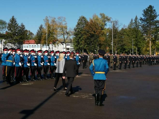 Промоција 325 кадета 21. класе Јединице за полицијску обуку