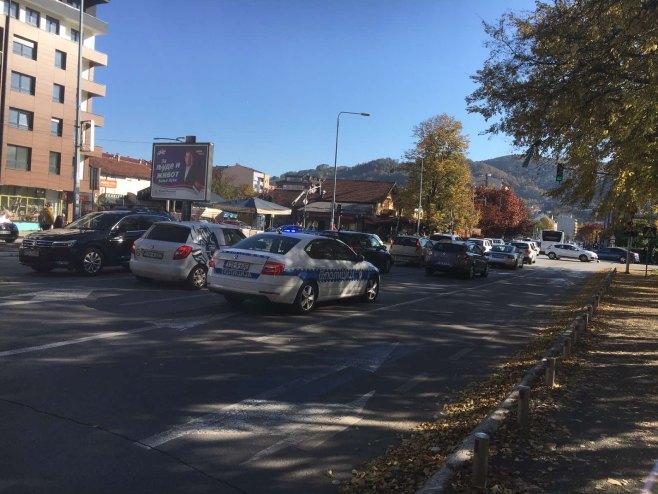 Саобраћајна незгода, на раскрсници Мајке Југовић и Степе Степановић