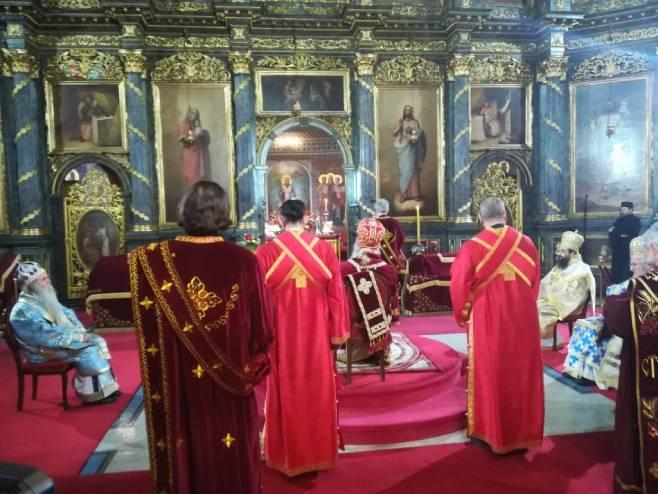 Последња почаст патријарху (фото: V. Danilov)