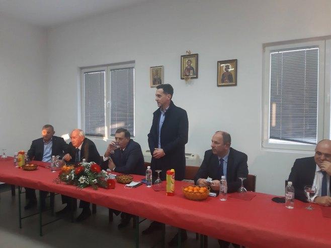 Додик у Мостару (Фото: РТРС)