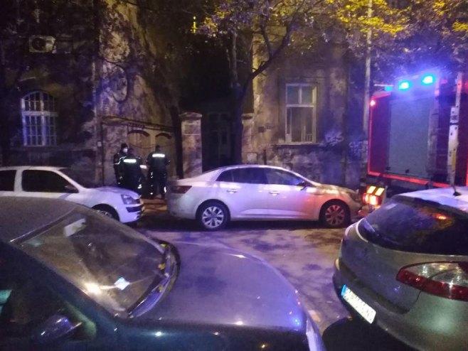 Beograd-požar (foto:Uglješa Balšić)