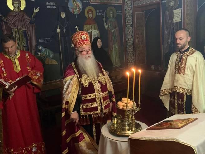 Митрополит Хризостом у посјети Пећкој патријаршији (Фото: СПЦ)