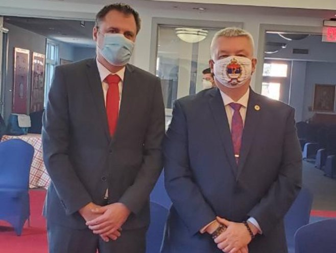 Bojan Vujić i Obrad Kesić (foto: RTRS)