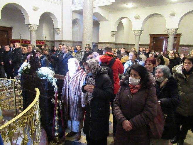 Banjaluka - liturgija (Foto: SRNA)