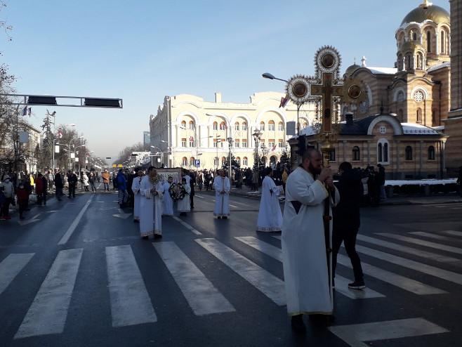 Banjaluka - litija (Foto: RTRS)