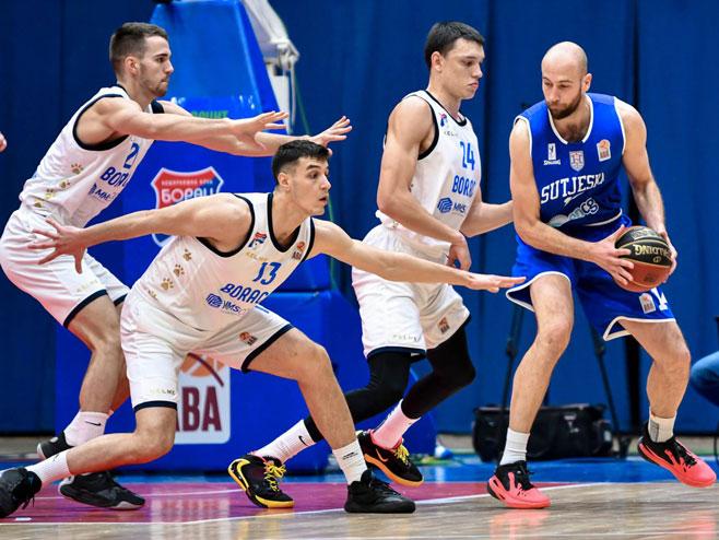 Борац - Сутјеска (фото: ABA league/Dragana Stjepanović)