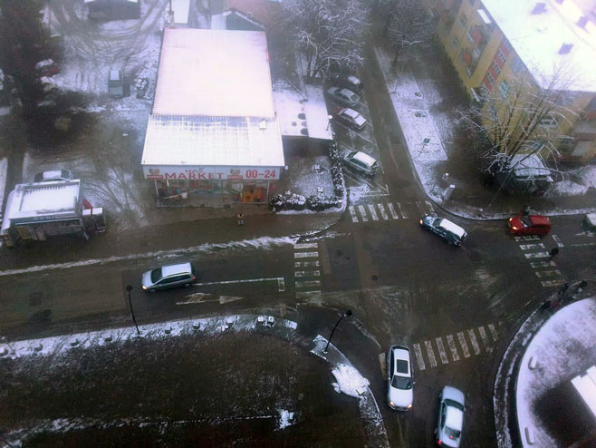Нови Град - снијег (фото: СРНА)